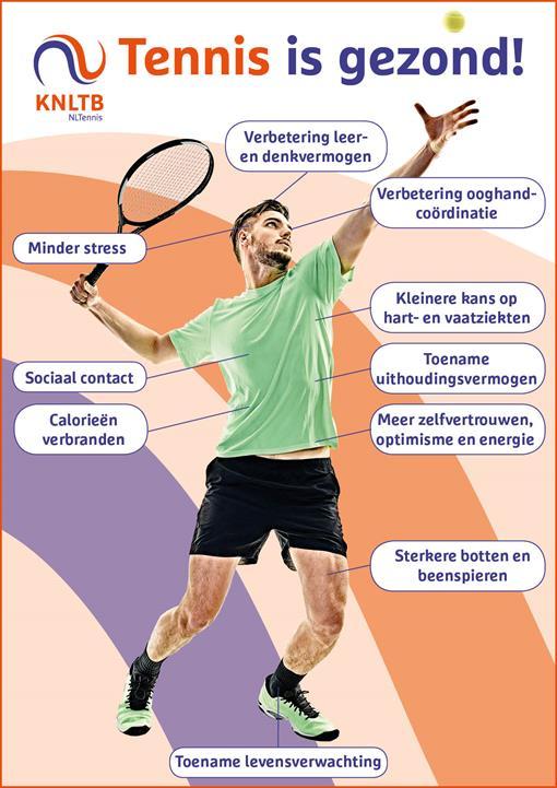 Gezond tennis